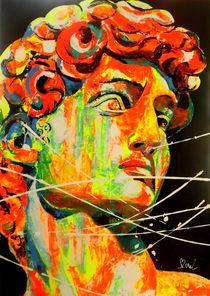 David inspiré de Michel Ange von MARIE-ARMELLE BOREL