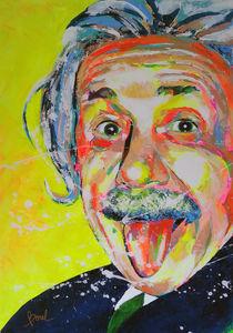 Albert Einstein by MARIE-ARMELLE BOREL