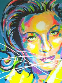 Lauren Bacall by MARIE-ARMELLE BOREL