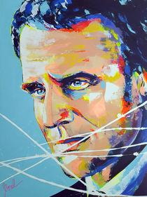 Emmanuel Macron. French President. von MARIE-ARMELLE BOREL