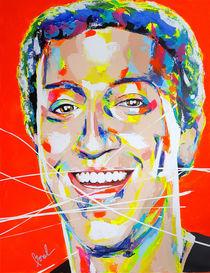 Mark Zuckerberg by MARIE-ARMELLE BOREL