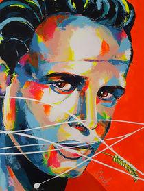 Marlon Brando by MARIE-ARMELLE BOREL
