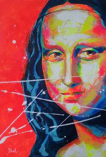La Joconde. Mona Lisa von MARIE-ARMELLE BOREL