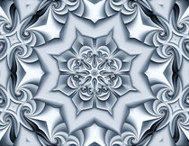 Silver Silk Mandala by Richard H. Jones