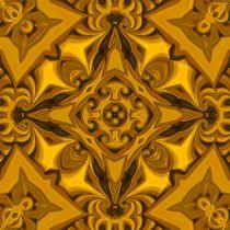Silk Burnished-Sand Mandala by Richard H. Jones