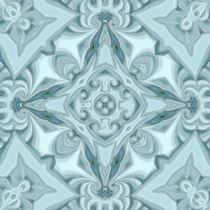 Silk Glacier Mandala by Richard H. Jones