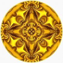 Silk Gold Glow Vignette von Richard H. Jones