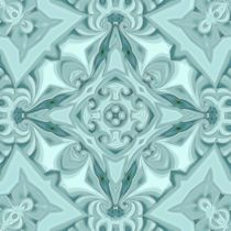 Silk Mint Mandala von Richard H. Jones