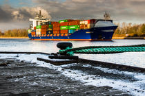 Container Schiff von Ralf Ramm - RRFotografie