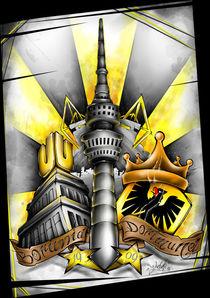 Borussia Dortmund Fan Art von Oliver Walenta