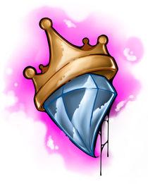 Krone auf dem Diamant von Oliver Walenta