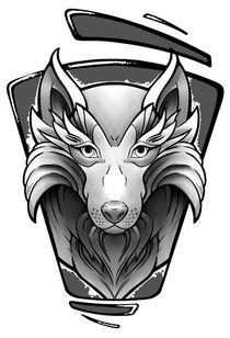 Tattoo Wolf by Oliver Walenta