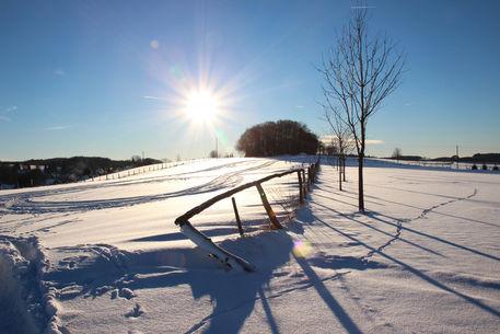 Schneesonne