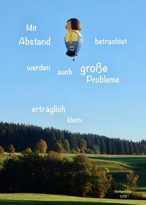 Abstand von Gerhard Bär