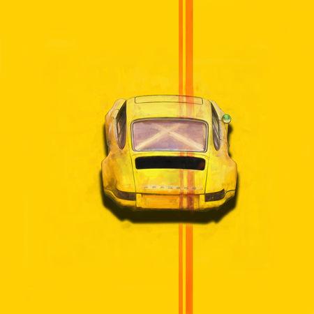 Yellow-porsche-rear-3
