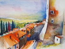 San Miniato, Toskana by Inez Eckenbach-Henning