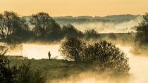 Angler an der Hamme von Jens Welsch