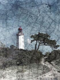 Leuchtturm Hiddensee fragil von sternbild