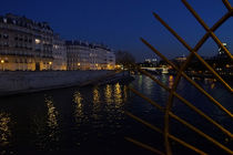 Seine by night von Sandra Opolka