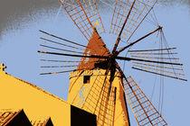 Windmühle von Sandra Opolka