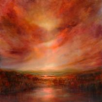 Evening glow by Annette Schmucker