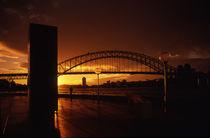 Harbour Bridge Sunset von David Halperin