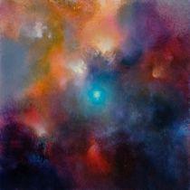 Blaue Mitte von Annette Schmucker