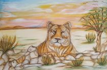 Krafttier Tiger von Marija Di Matteo