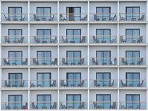 Hotel mit Fenstern von Christian Mueller