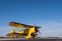 WACO Classic YMF-5C Biplane by Sandro S. Selig