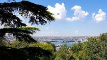 Panoramic view at Istanbul from Topkapi palace von ambasador