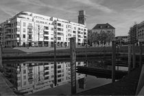 Ruhrpromenade mit Marina Mülheim an der Ruhr von Peter Hebgen