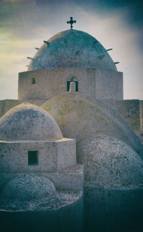 Greek Island Church von David Halperin
