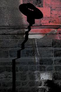 Eingebrannter Laternenschatten  von Bastian  Kienitz
