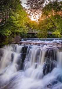 Waterfall in Akerselva, Oslo by Nuno Borges