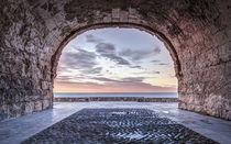 A Window to The Mediterranean Sea, Altafulla (Catalonia) von Marc Garrido Clotet