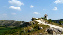 Old Orhei monastery on Raut river in Moldova von ambasador