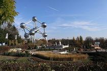 Atomium and Mini-Europe Park by Sergey Dolgorukiy