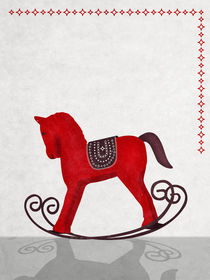 Little Red Rocking Horse von Sybille Sterk