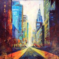 Straße in Manhattan 2 von Ulla Schönhense