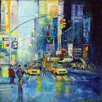 Straßen in Manhattan von Ulla Schönhense