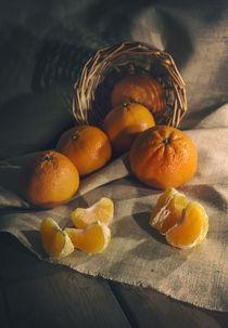 Still life with tangerines von Jarek Blaminsky
