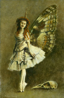 Victorian Gothic Fairy by Michael Thomas