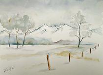 Winter, Schnee, Kälte, Jahreszeiten by Theodor Fischer