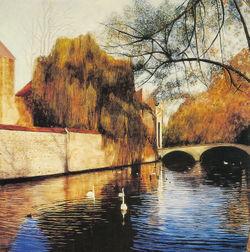 A-drift-of-swans