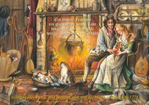 Weihnachtskarte,Schiffskater Pixie von Jonathan Petry