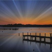 Sunrise Pier by Carmen Wolters
