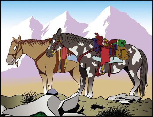 Mountain-horses