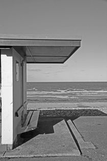 LLANDUDNO. Shelter on the Promenade. by Lachlan Main