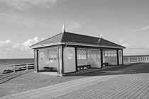 ABERYSTWYTH. Shelter on the Promenade. by Lachlan Main